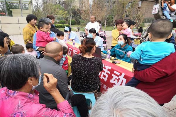 河南开封【乐邻社区志愿服务站】养成良好的卫生习惯,提高疾病预防意识