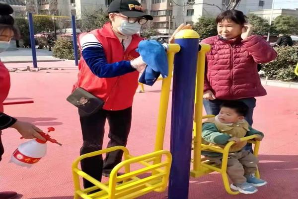 开封【乐邻社区志愿服务站】-25-城市的一份子,愿为疫情防控奉献自己的力量