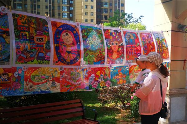 开封【综益课堂】用心守护纯真的童心,用爱陪伴茁壮的成长,用艺术的色彩增添童年的缤纷与绚烂